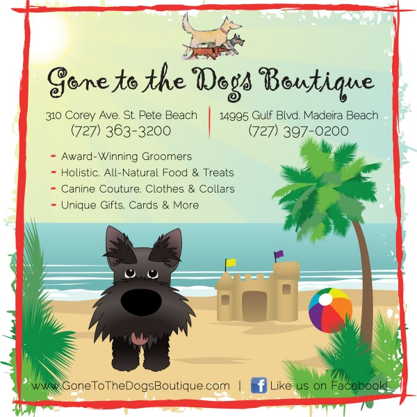 Gone to the Dogs Boutique advertisement