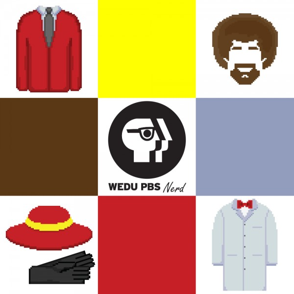 Retro PBS character icons